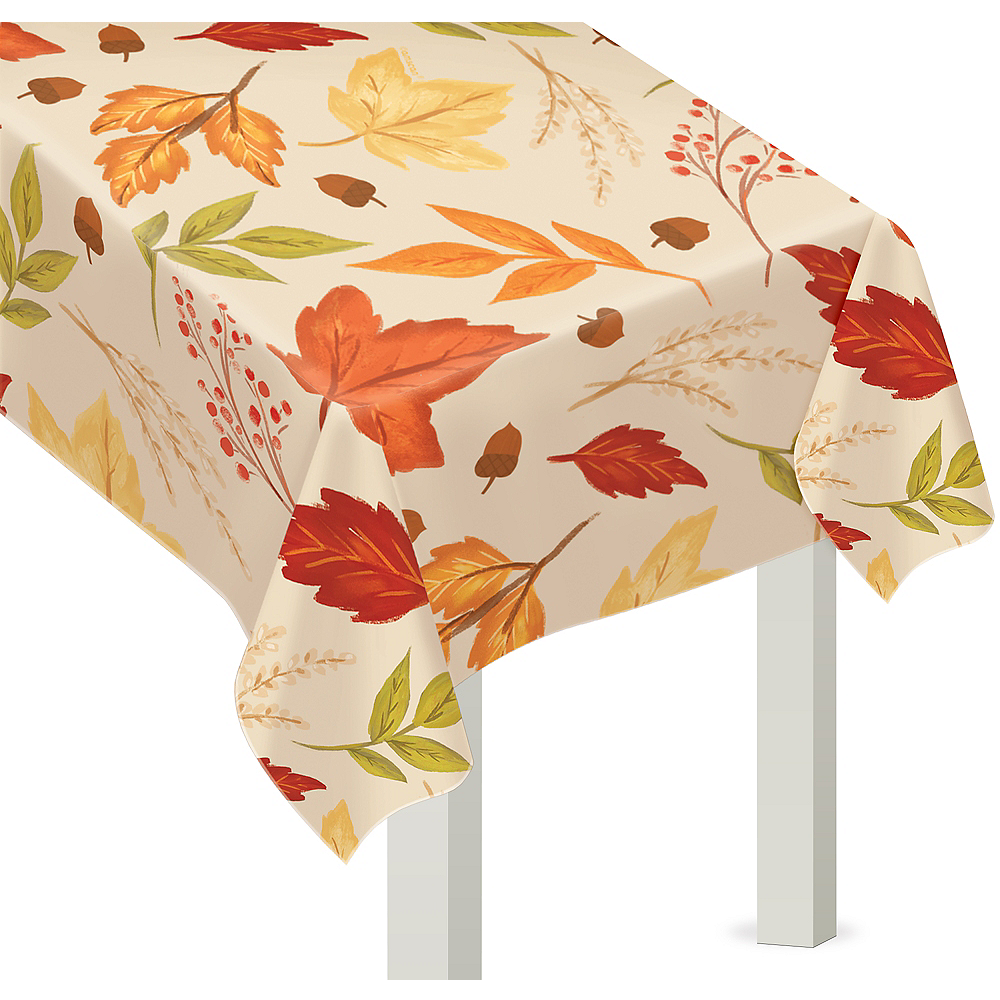 Fall Foliage Vinyl Table Cover Image #1