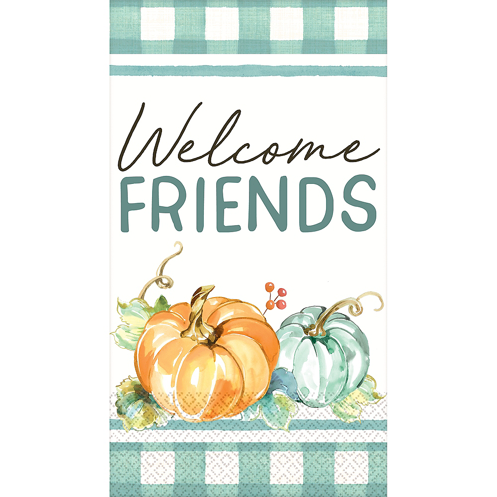 Painted Fall Guest Towels 16ct Image #1