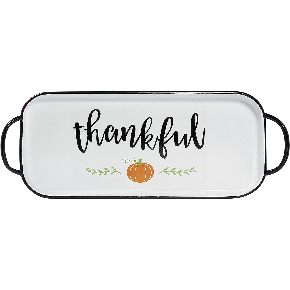 Fall Harvest Serving Tray Image #1
