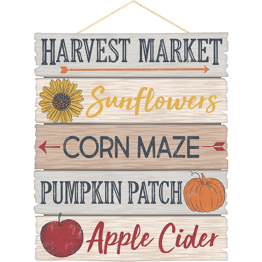 Fall Harvest Sign Image #1