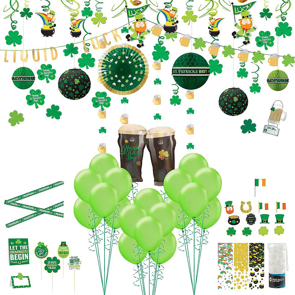 St. Patrick's Day Bar Decorating Kit Image #1