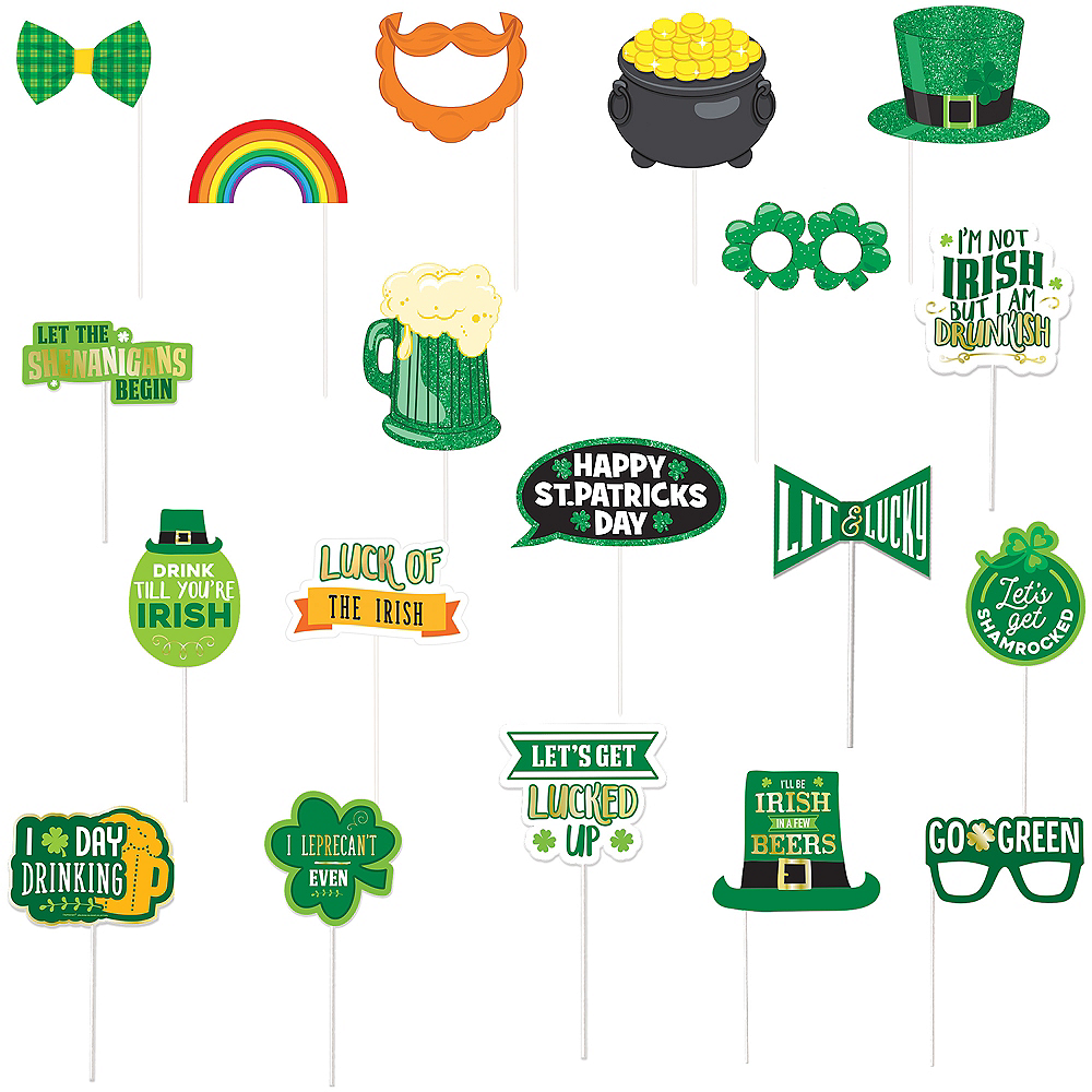 St. Patrick's Day Photo Booth Kit Image #1