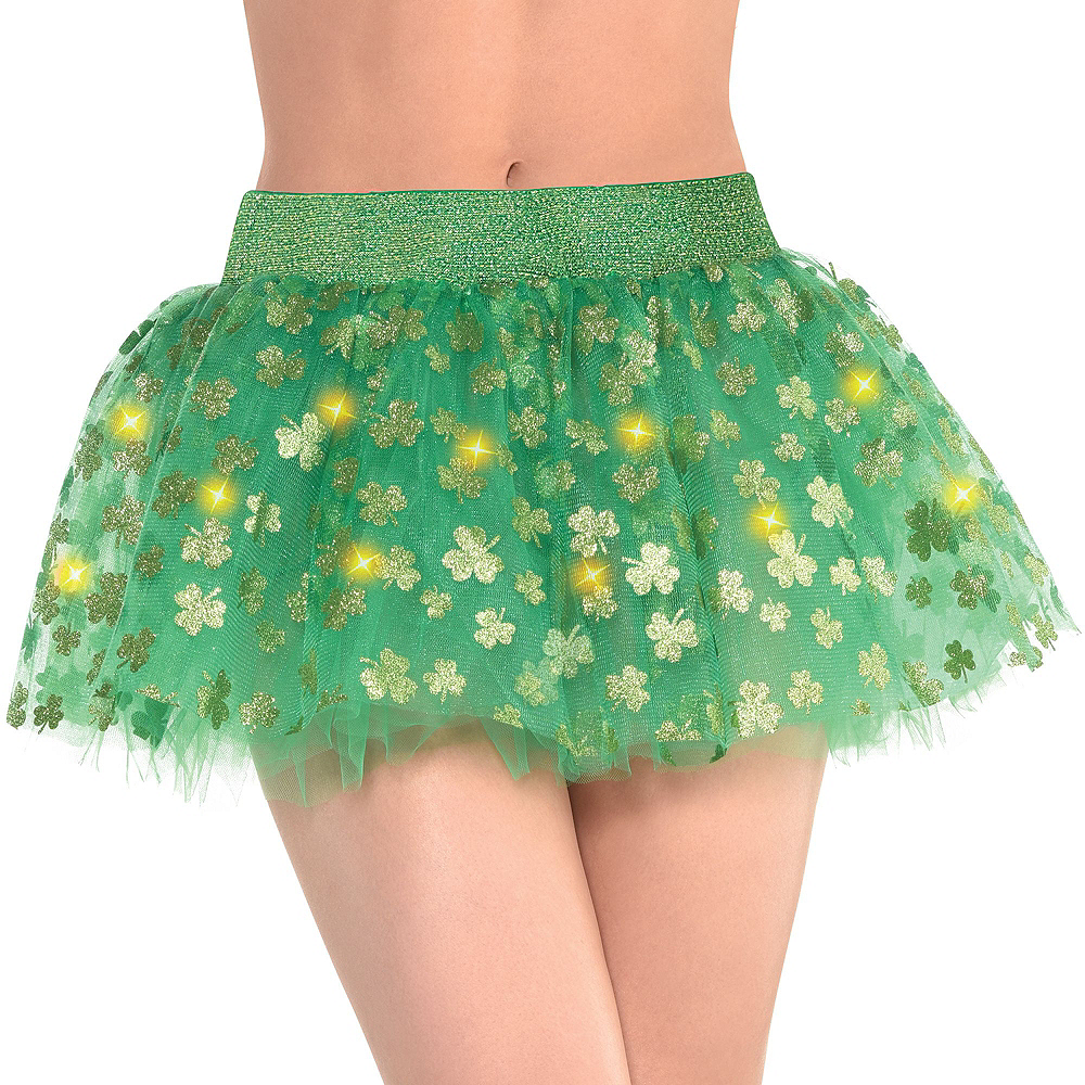 Womens Light-Up St. Patrick's Day Accessory Kit Image #3