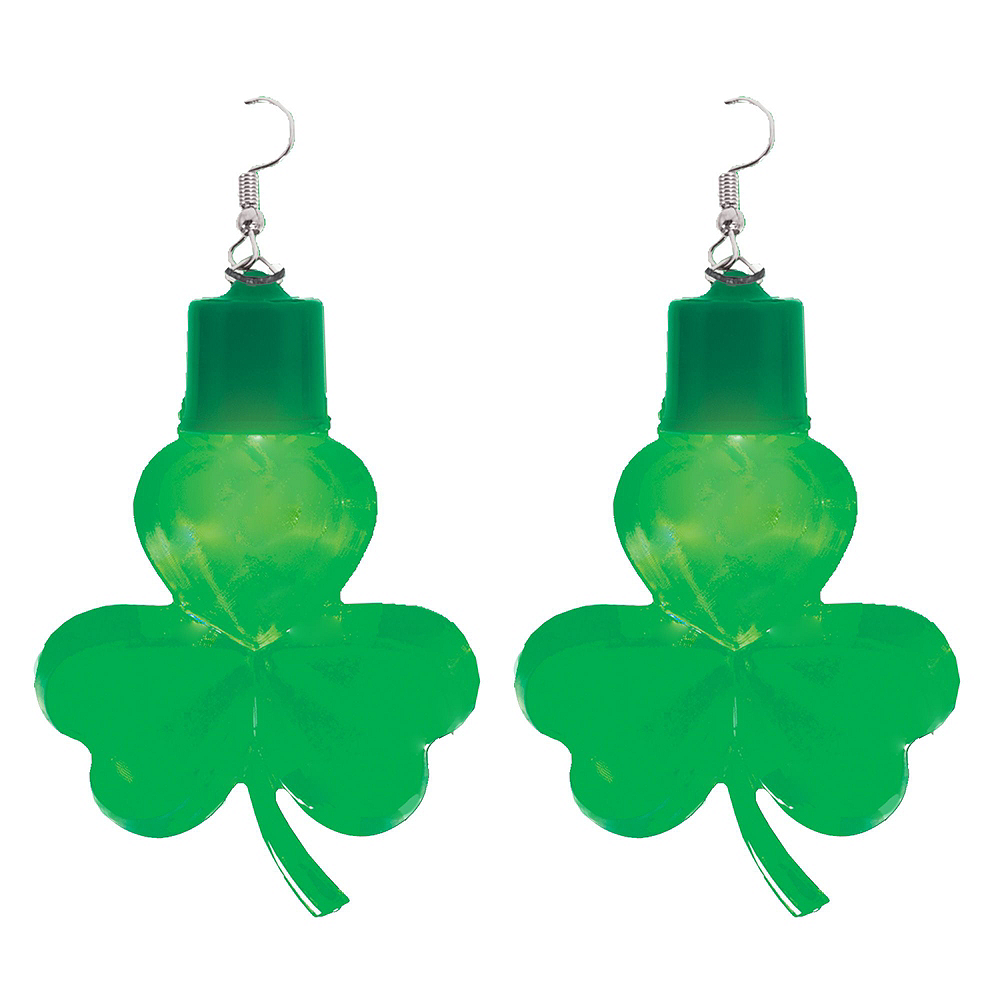 Womens Light-Up St. Patrick's Day Accessory Kit Image #4