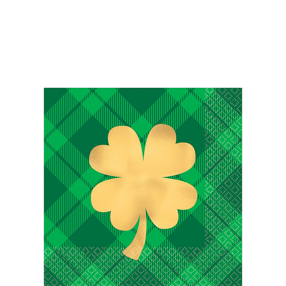 Lucky St. Patrick's Day Drinkware Kit Image #3