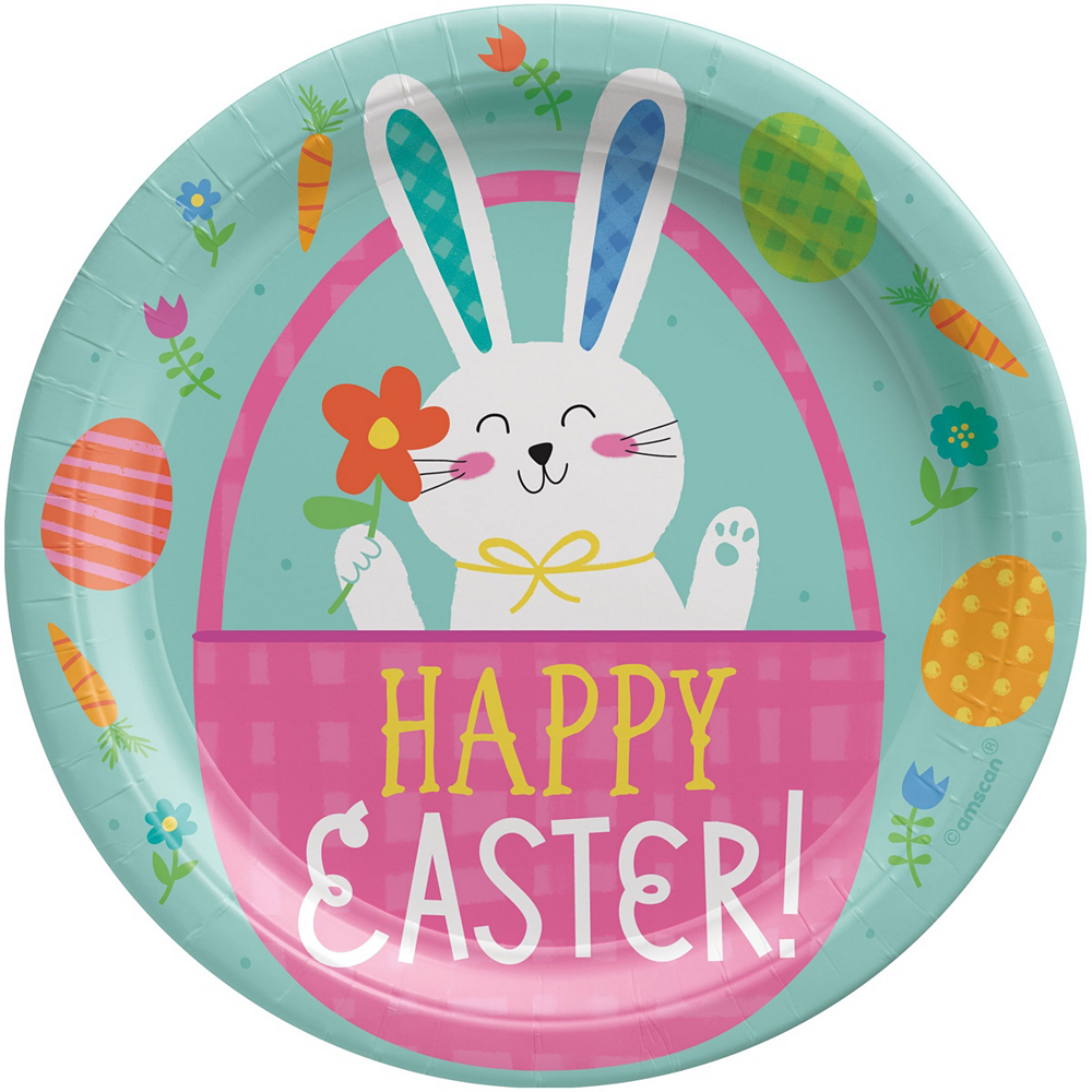 Hello Bunny Tableware Kit for 8 Guests Image #3