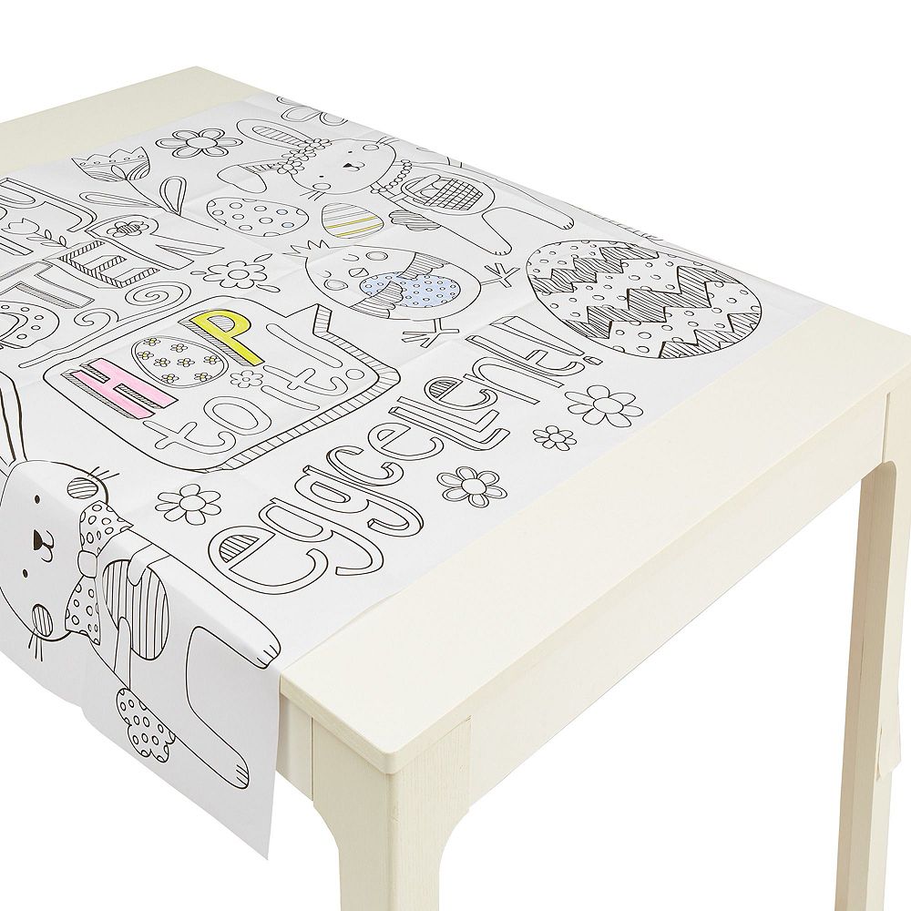 Easter Table Cover Coloring Kit Image #2