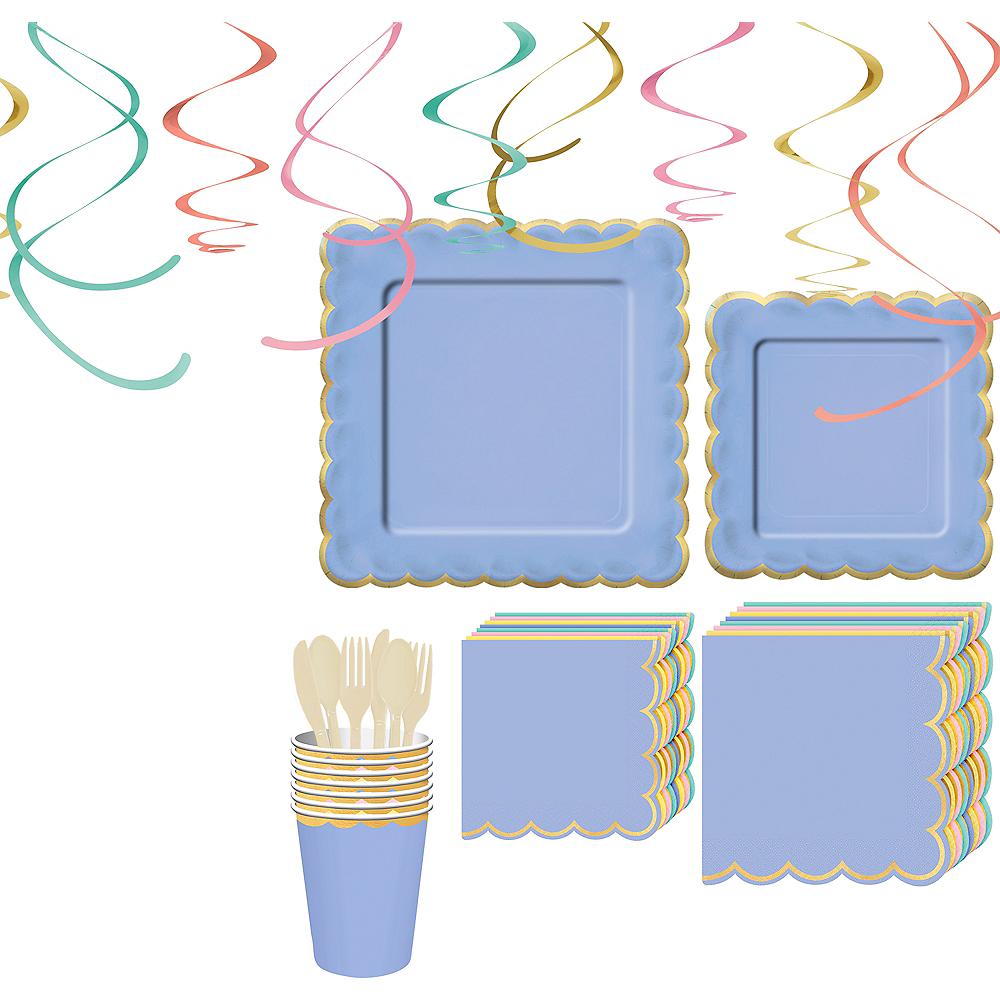 Spring Pastel Tableware Kit for 8 Guests Image #1