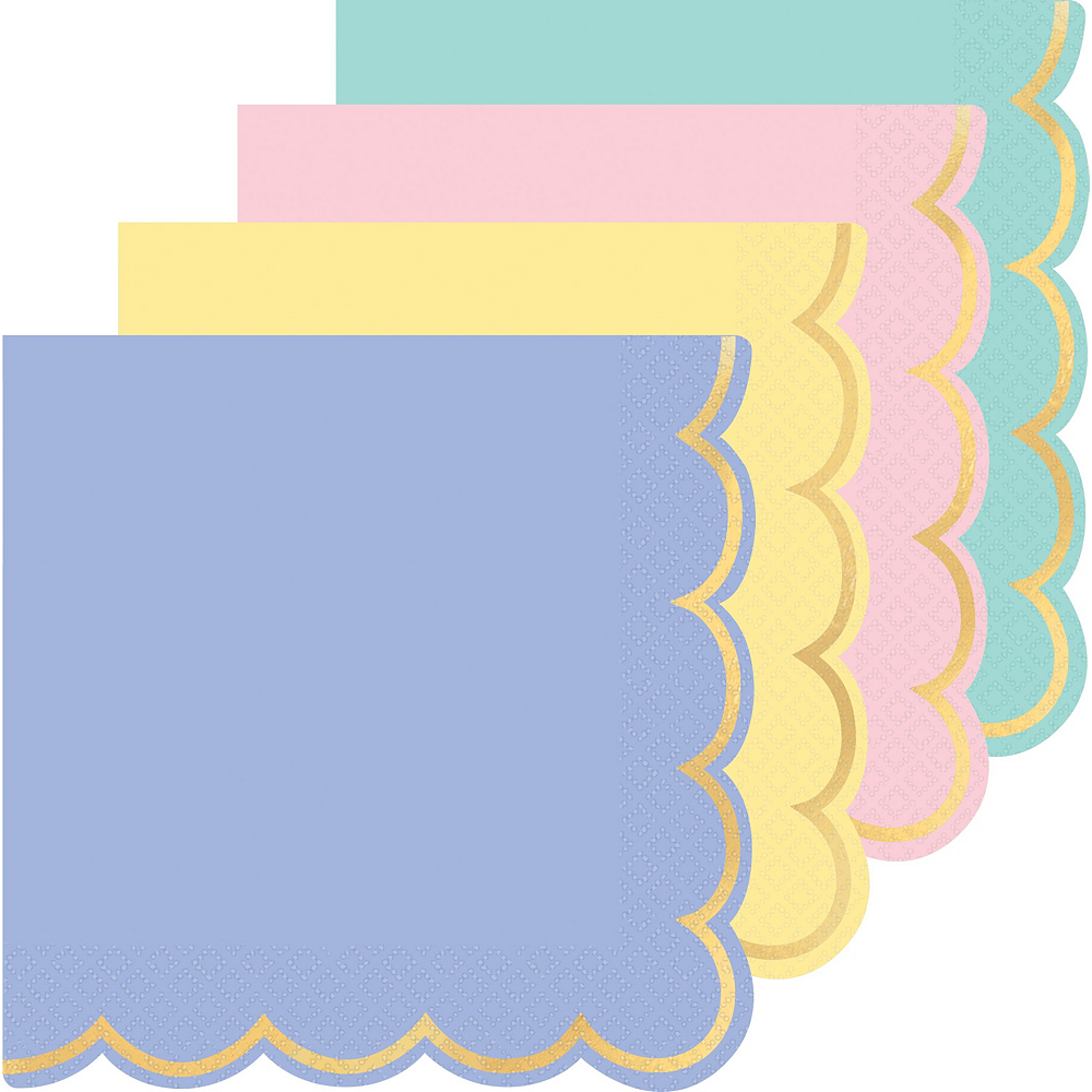 Spring Pastel Tableware Kit for 8 Guests Image #4