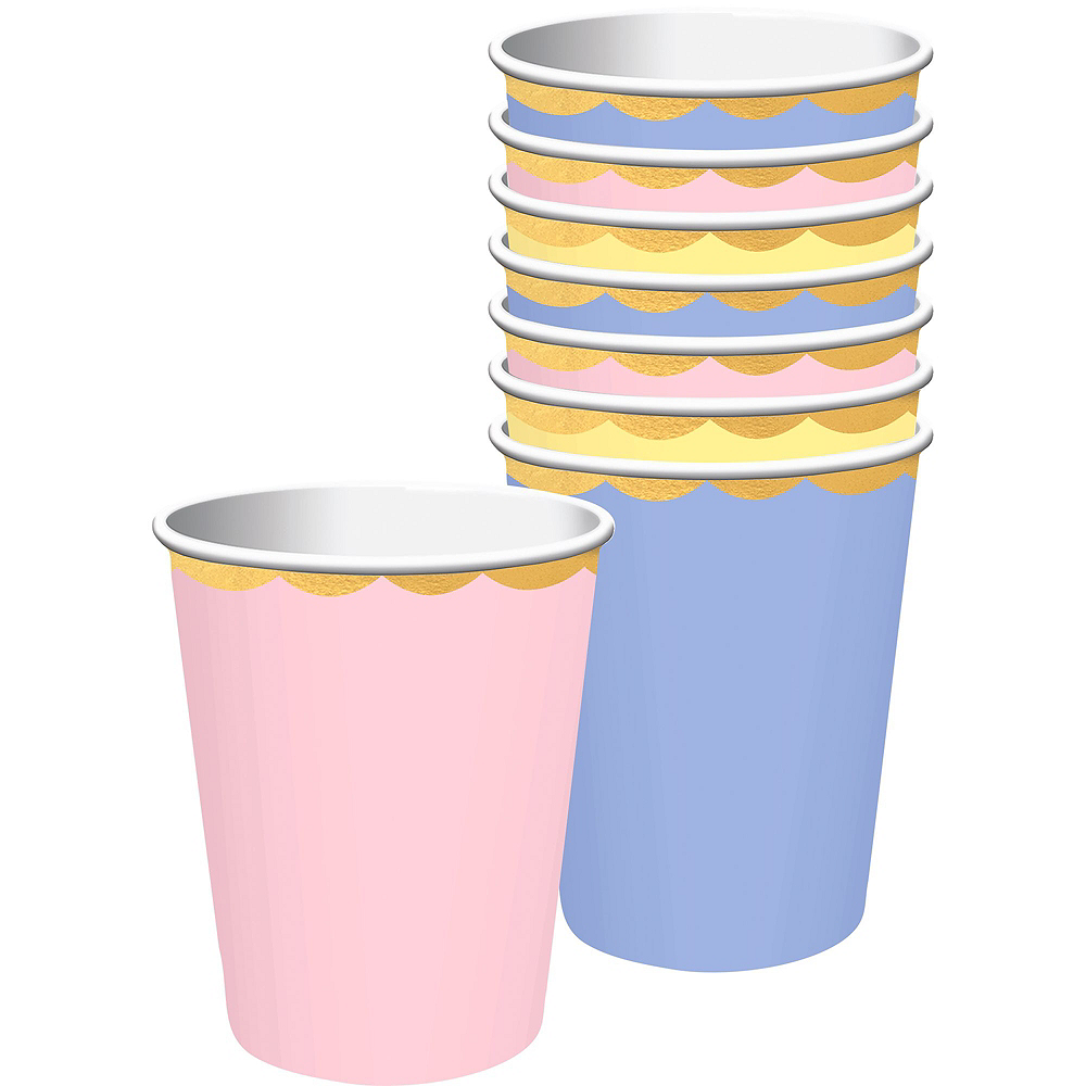 Spring Pastel Tableware Kit for 8 Guests Image #5