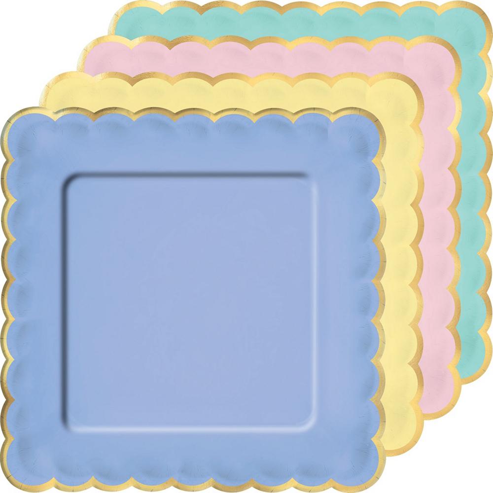 Spring Pastel Tableware Kit for 8 Guests Image #6