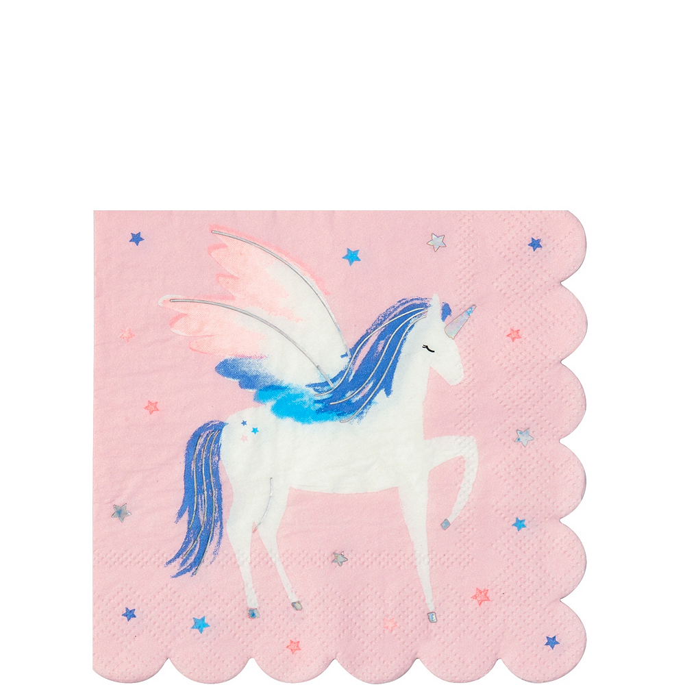 Alicorn Beverage Napkins 16ct Image #1