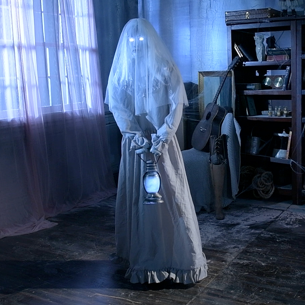Floating Ghost Woman Image #1