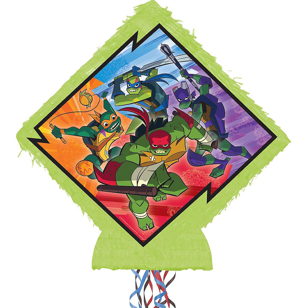 Pull String Rise of the Teenage Mutant Ninja Turtles Pinata Image #1