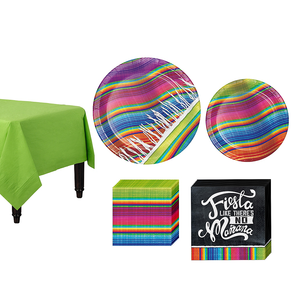 Serape Tableware Kit for 8 Guests Image #1