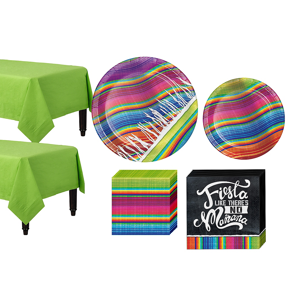 Serape Tableware Kit for 16 Guests Image #1