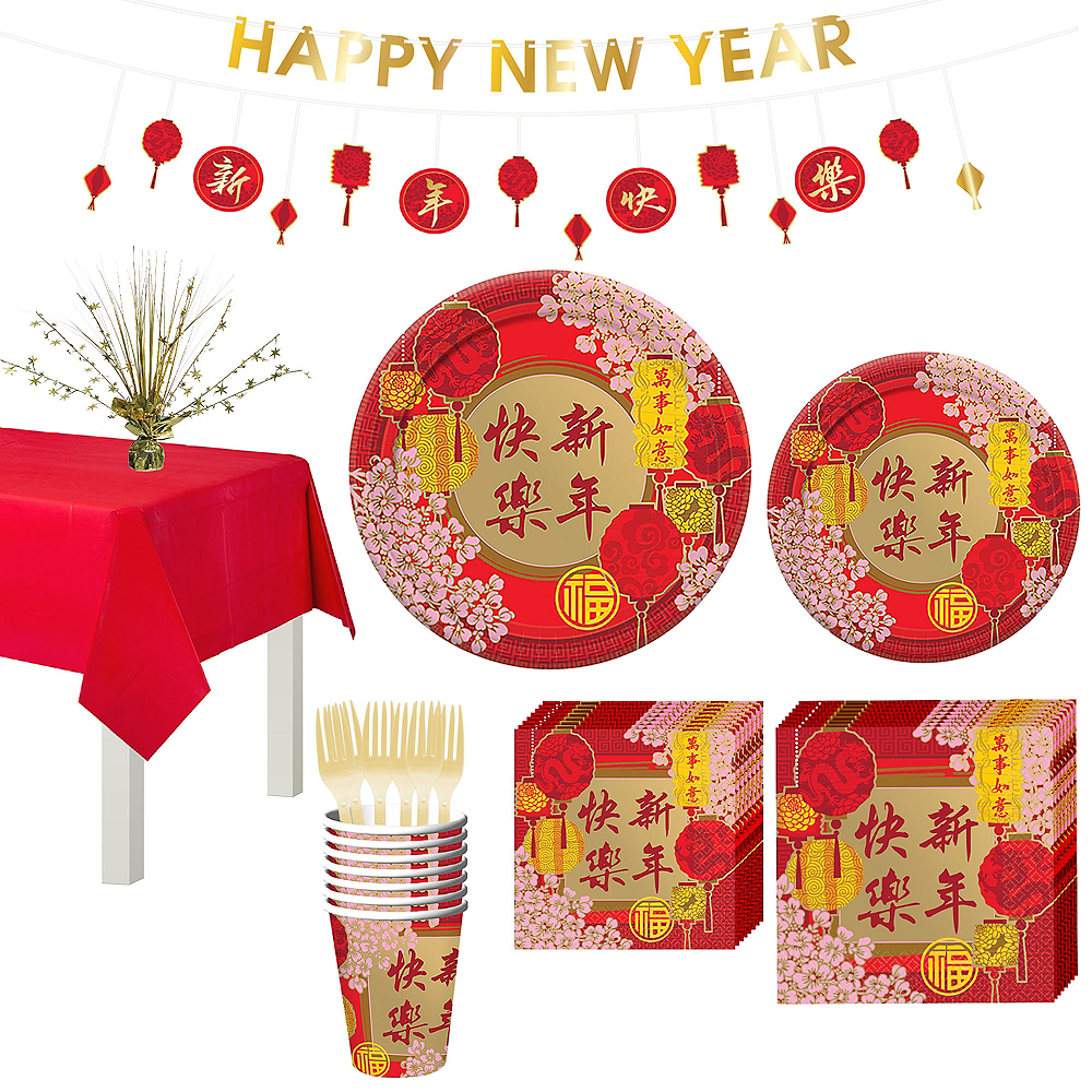 Chinese New Year Decorations Party City Oh Decor Curtain