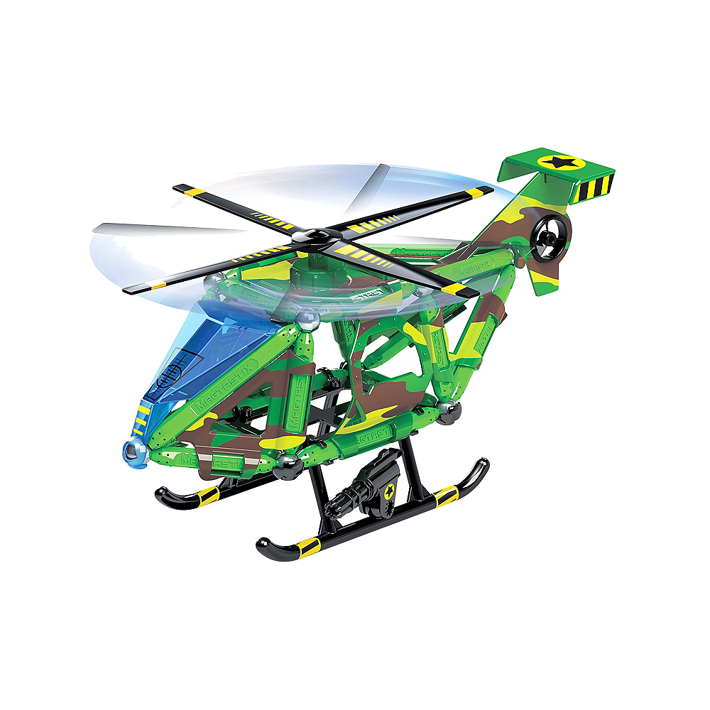 Cra-Z-Art Magtastix Mag-Tech Stealth Copter 49pc Image #2