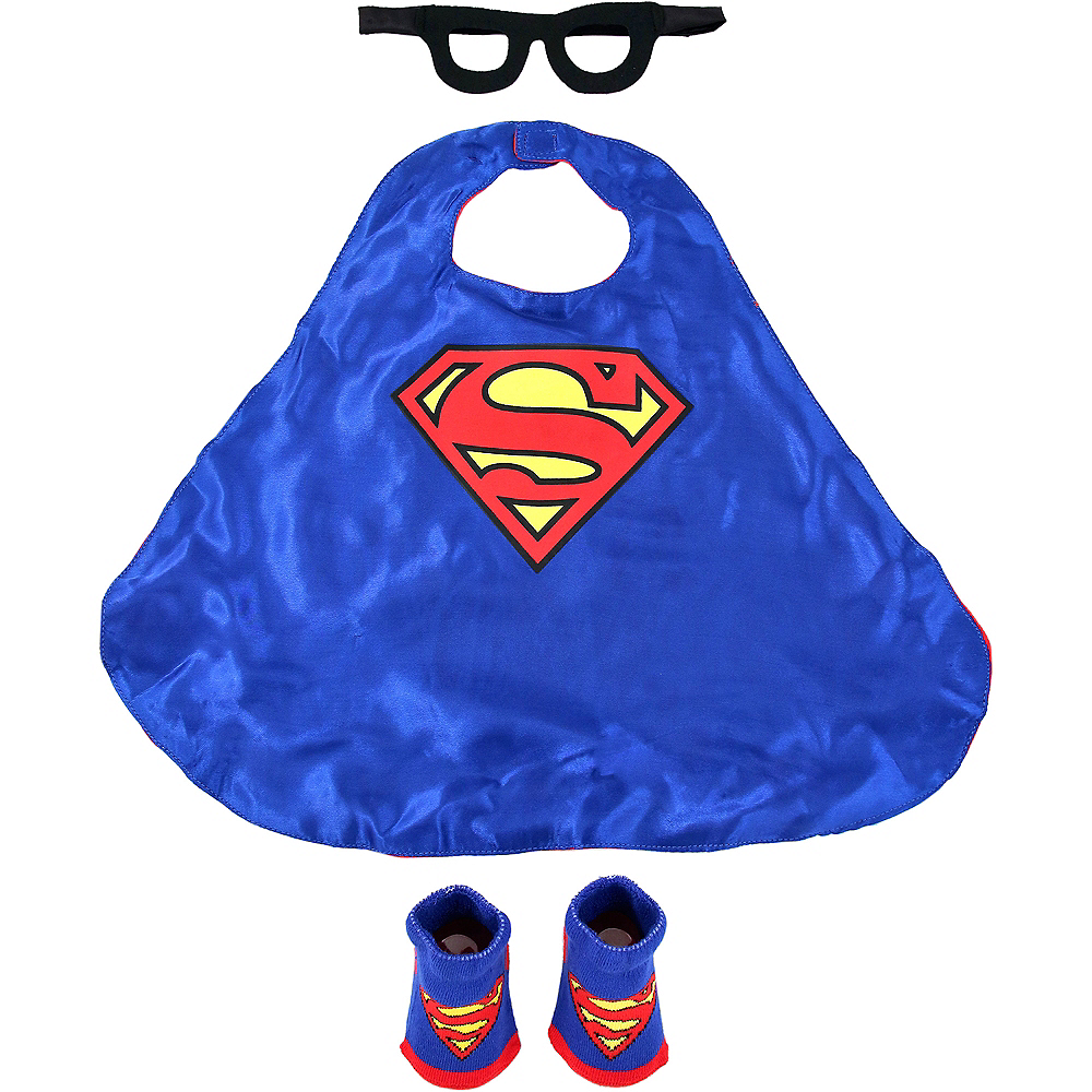 Baby Superman Costume Accessory Kit Image #1