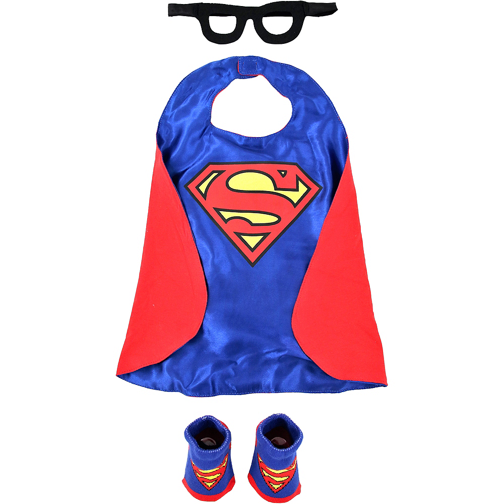 Baby Superman Costume Accessory Kit Image #2
