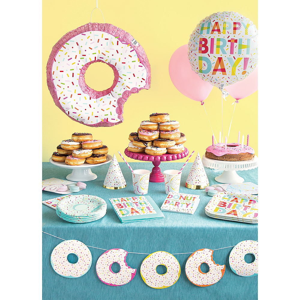 Donut Sprinkles Party Lunch Plates Image #2