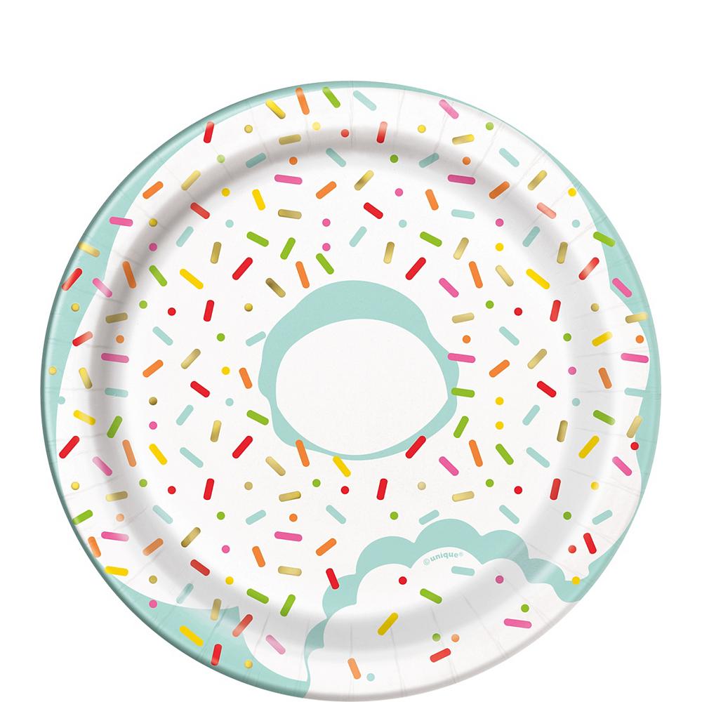 Donut Sprinkles Party Dessert Plates Image #1