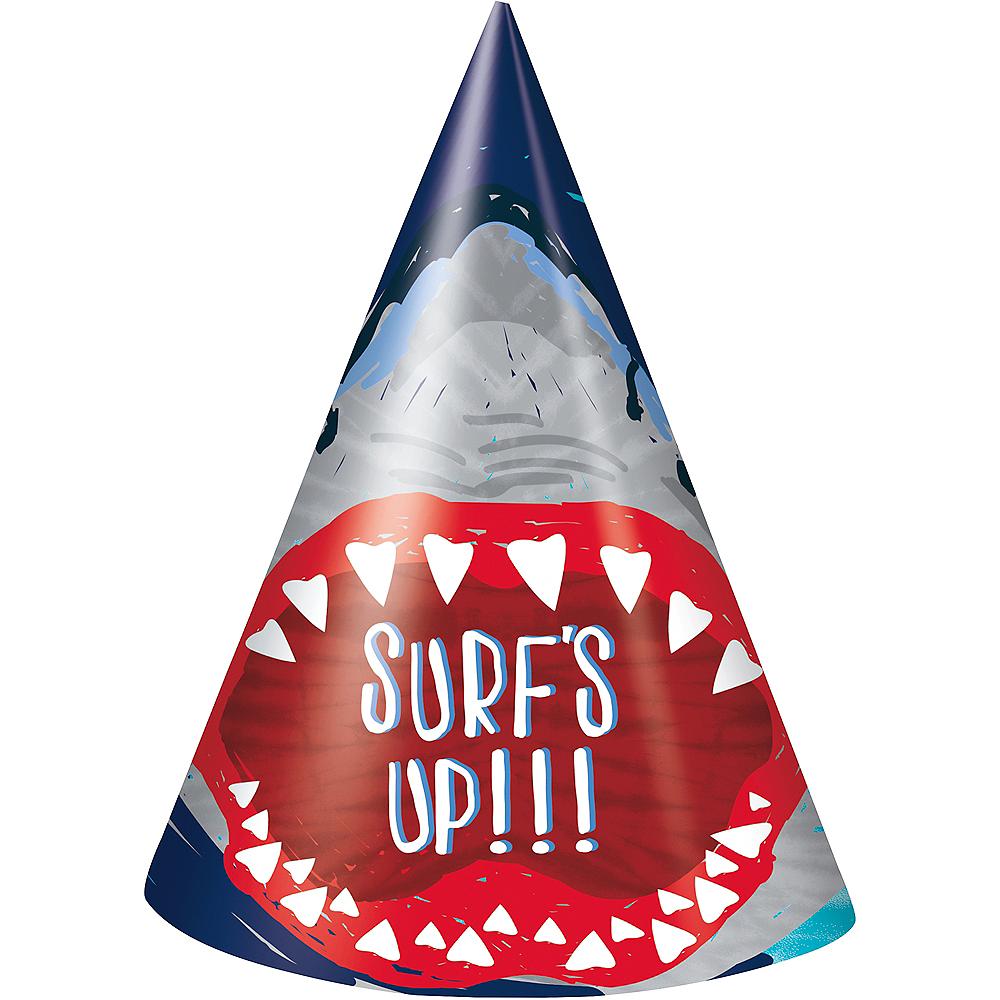 Fierce Shark Hats 8ct Image #1
