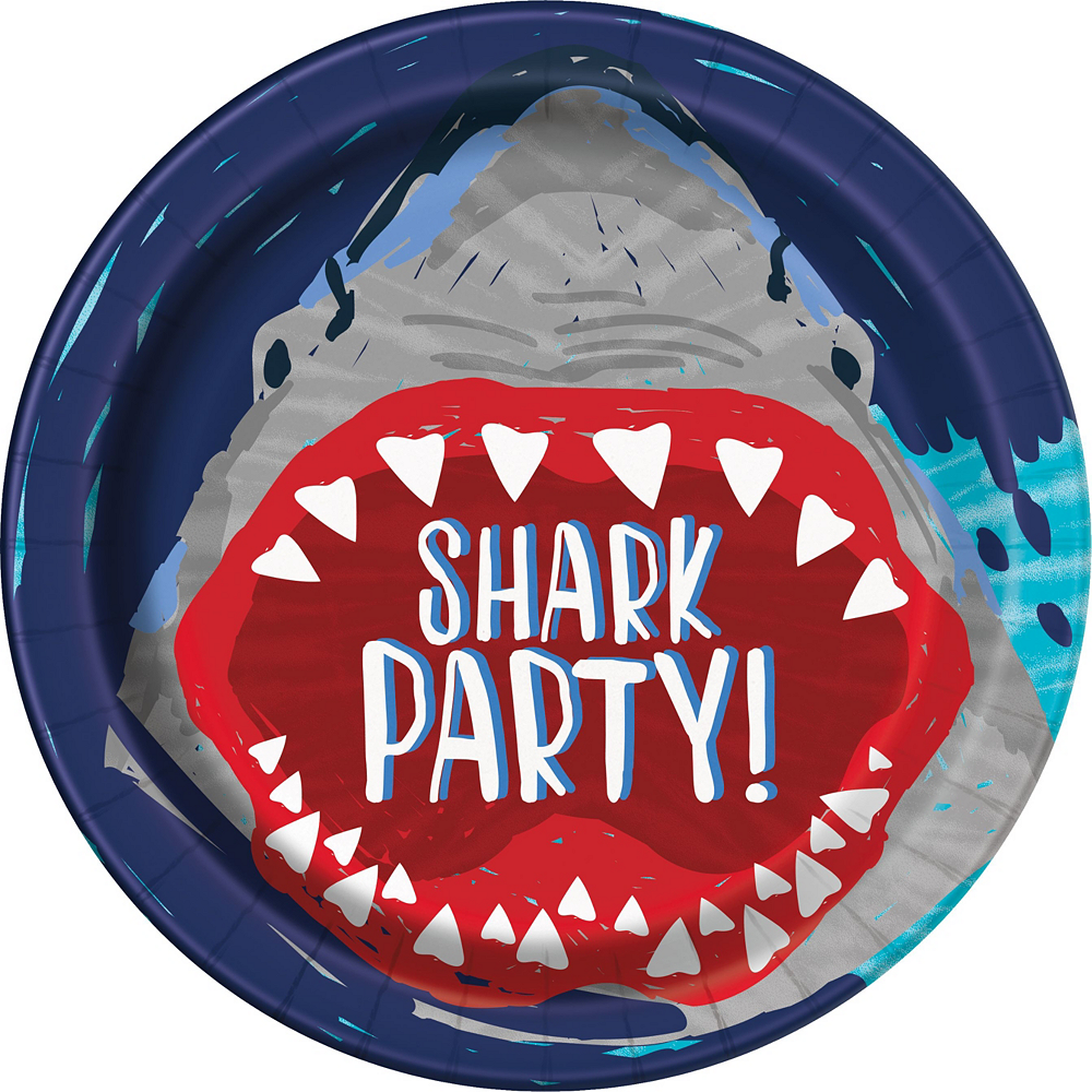 Fierce Shark Tableware Kit for 24 Guests Image #3