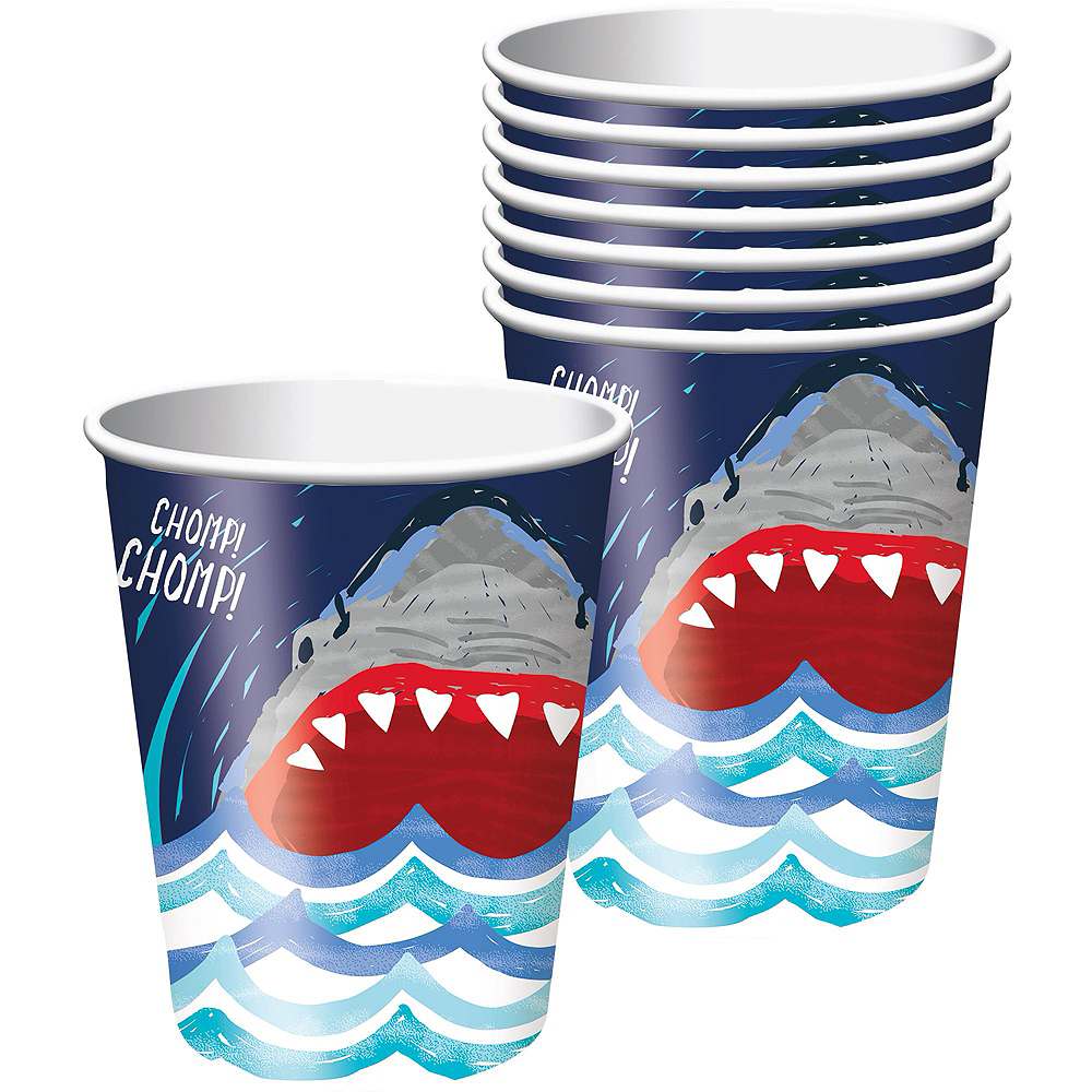 Fierce Shark Tableware Kit for 24 Guests Image #6