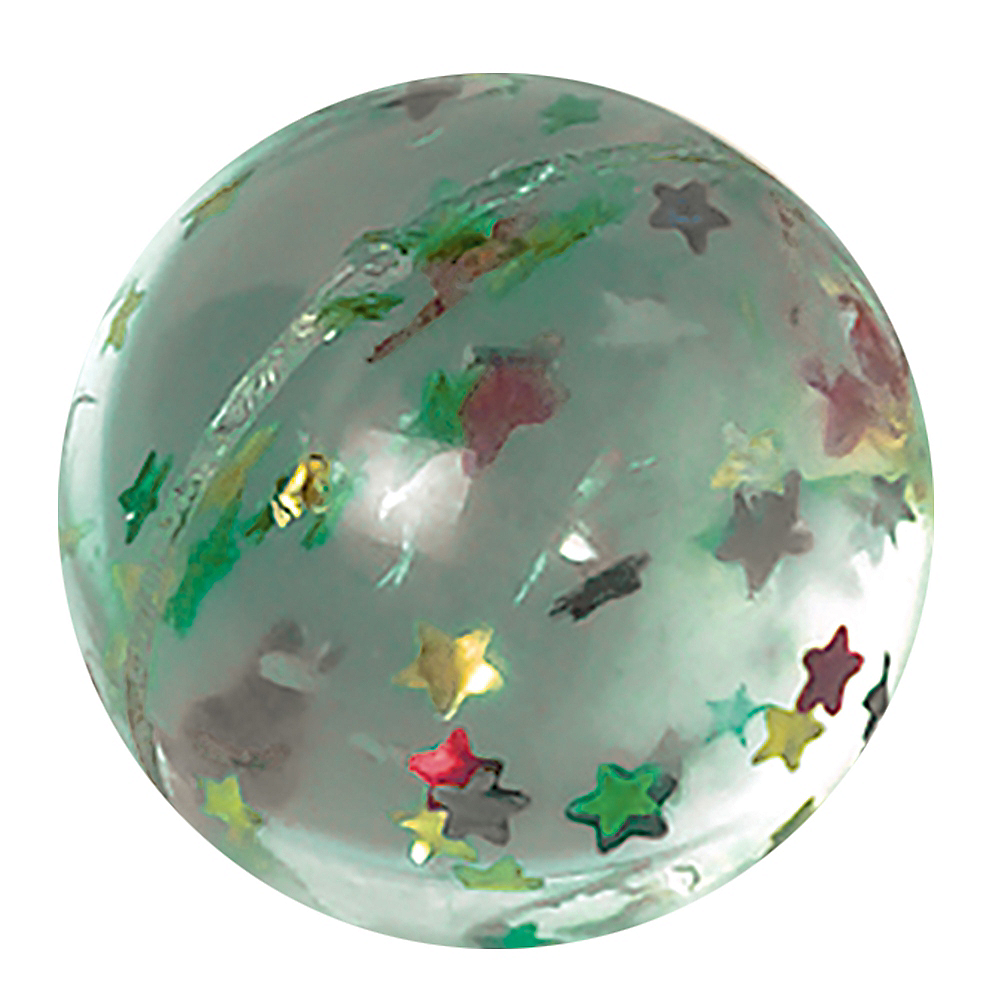 Star Glitter Bounce Ball Image #1