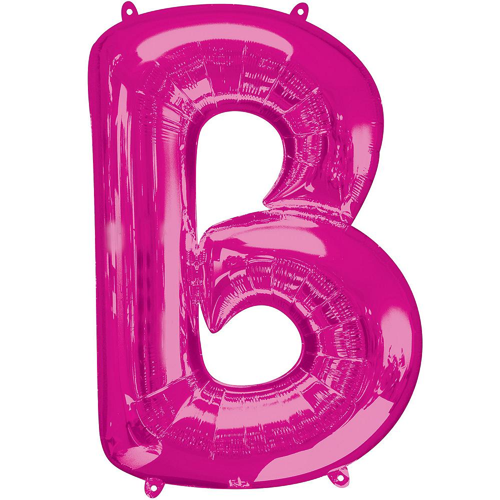 Giant Pink Bar Balloon Kit Image #2