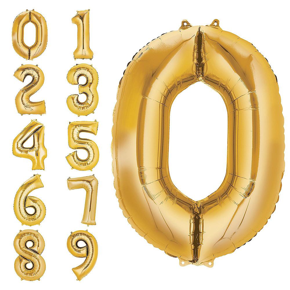 Giant Gold 2019 Star Balloon Kit Image #3