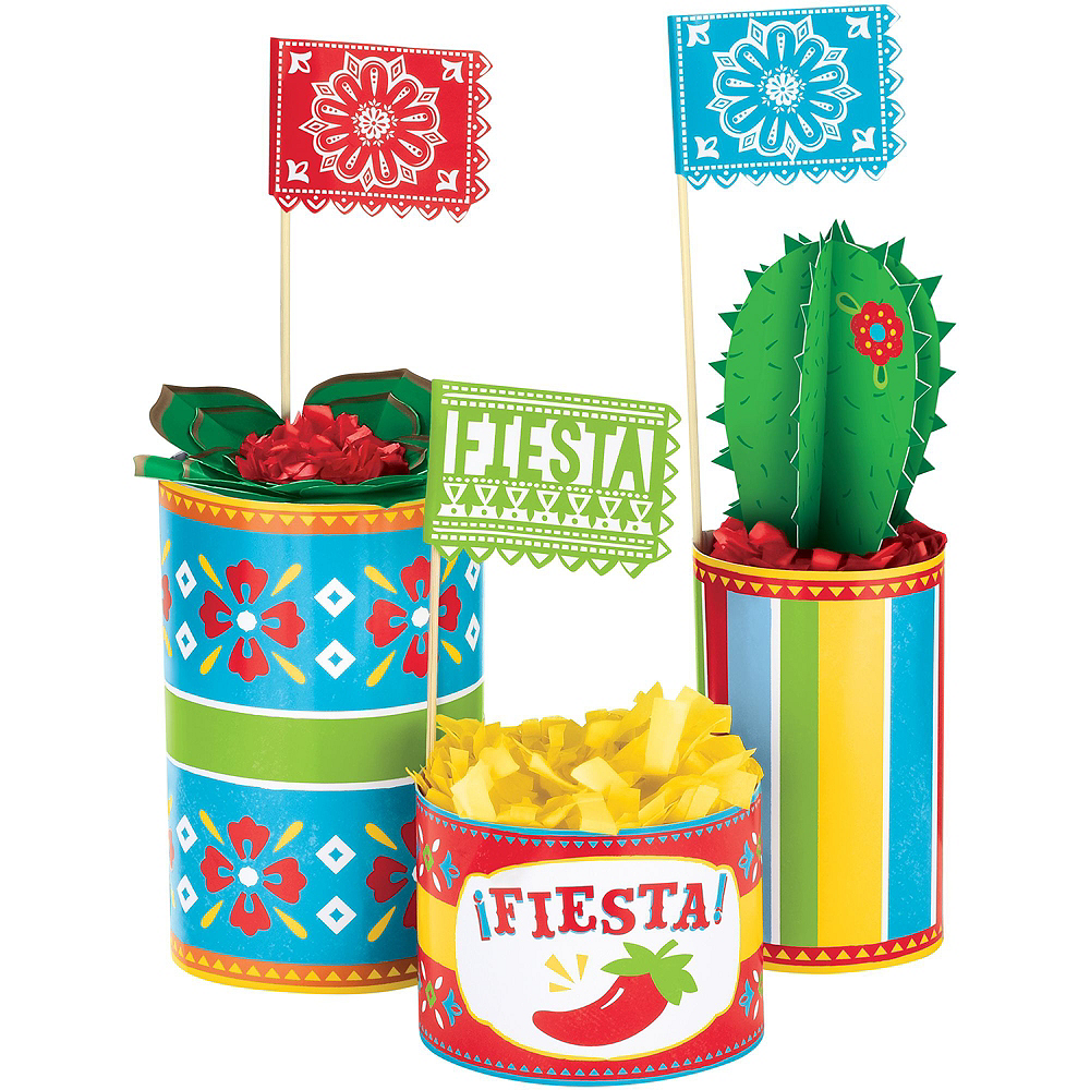Fiesta Time Tableware Kit for 32 Guests Image #9