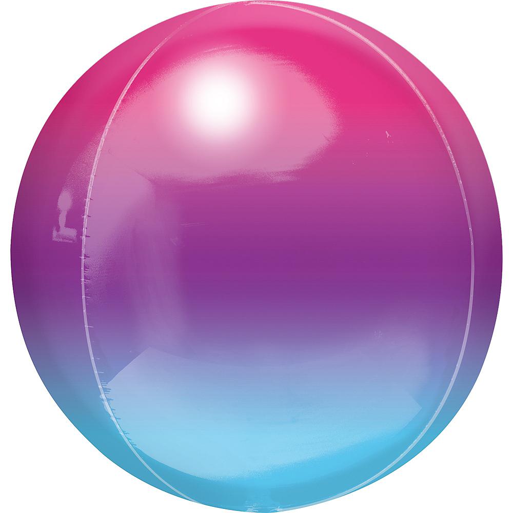 Purple & Blue Ombre Orbz Balloon Image #1