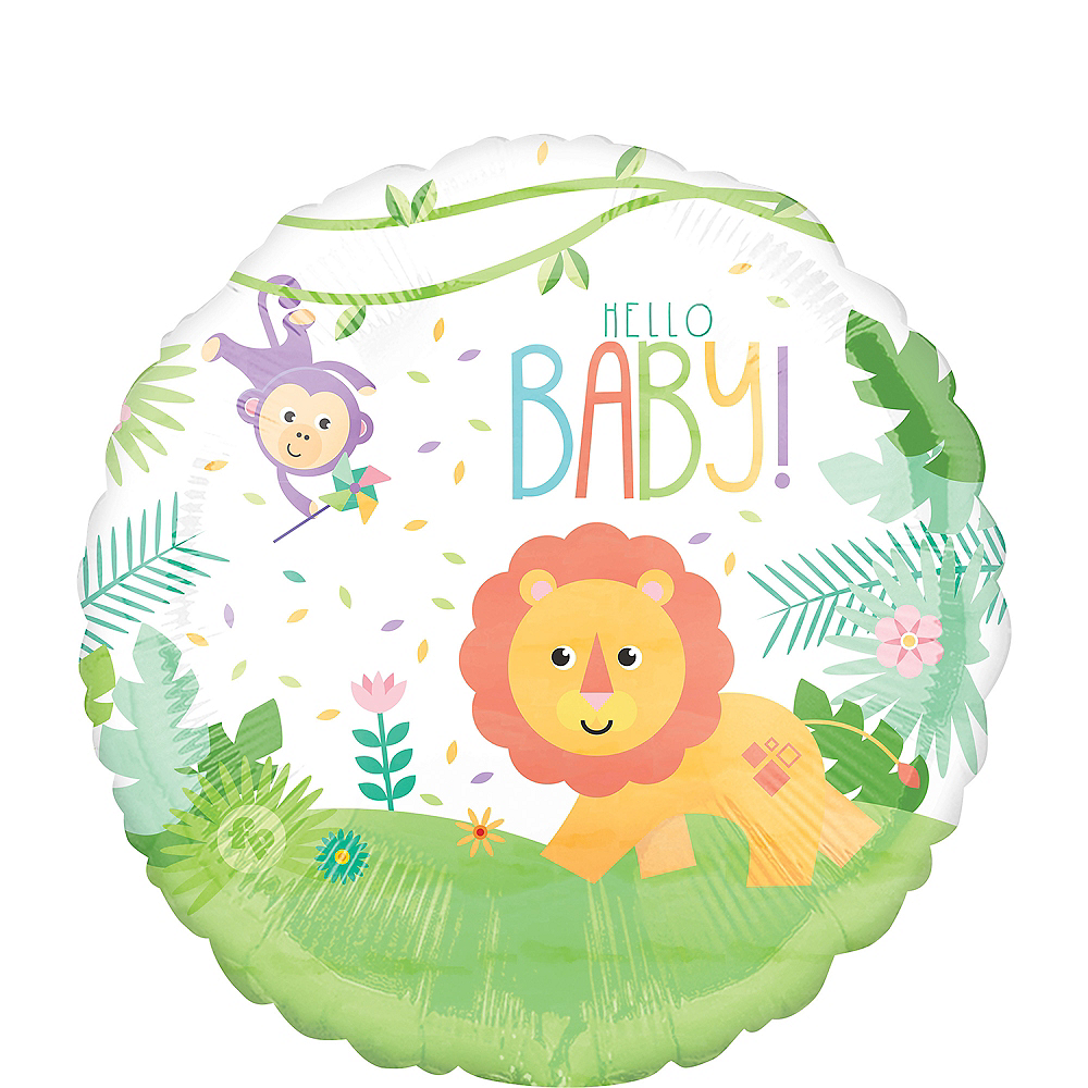 Fisher-Price Hello Baby Balloon 17in Image #1