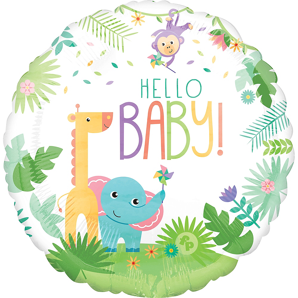 Giant Fisher-Price Hello Baby Balloon Image #2