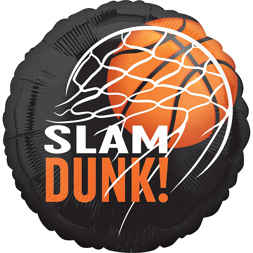 Slam Dunk Basketball Balloon Image #1