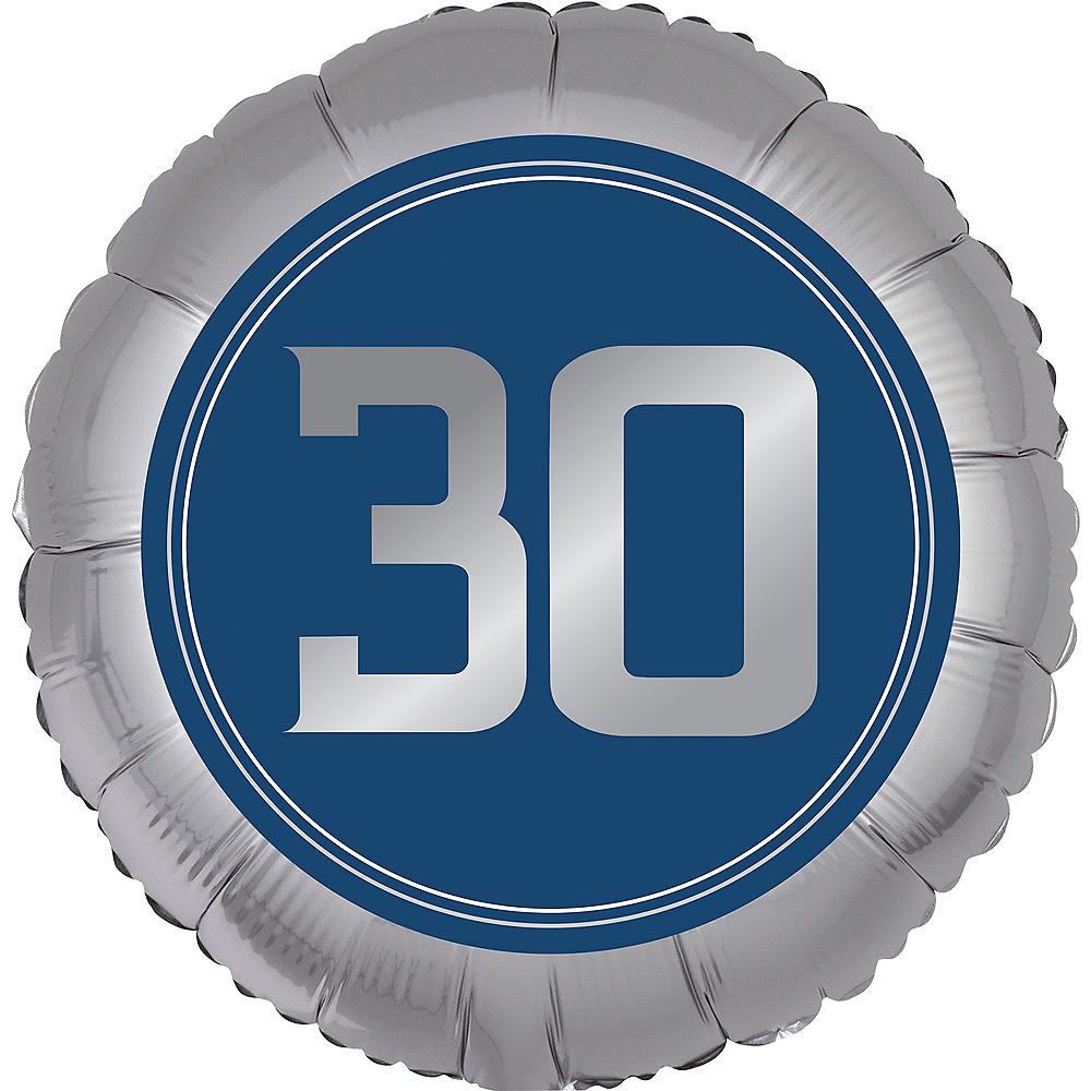 Vintage Happy Birthday 30th Birthday Balloon Image #1