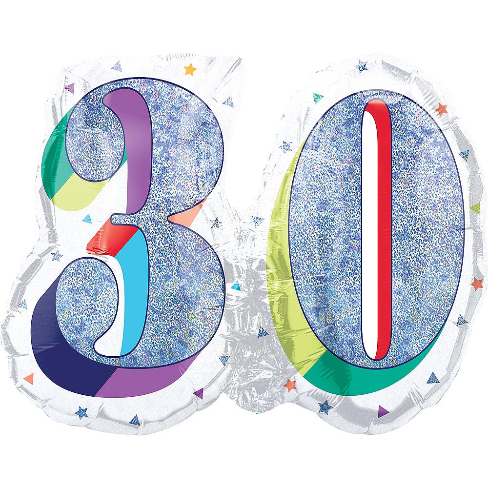 Prismatic Rainbow 30 Balloon Image #1