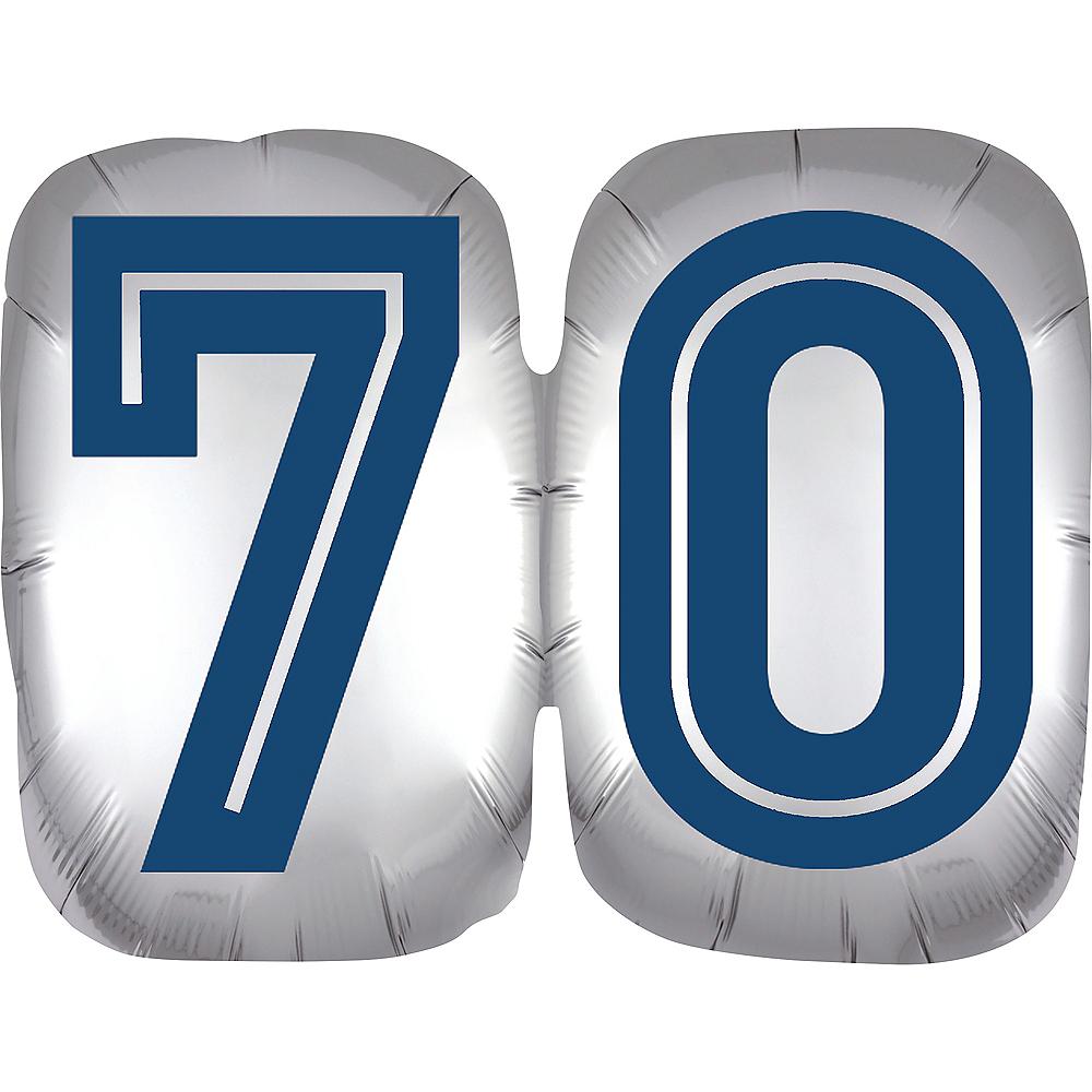 Vintage Happy Birthday 70 Balloon Image #1