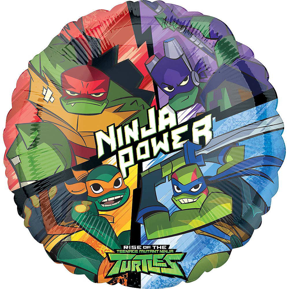 Rise of the Teenage Mutant Ninja Turtles Balloon Image #1