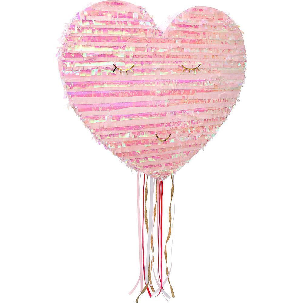 Pull String Smiling Heart Pinata Image #1