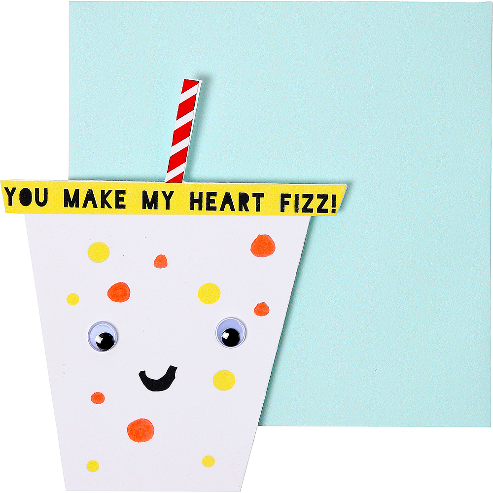 Food Valentine Exchange Cards with Tattoos 24ct Image #4