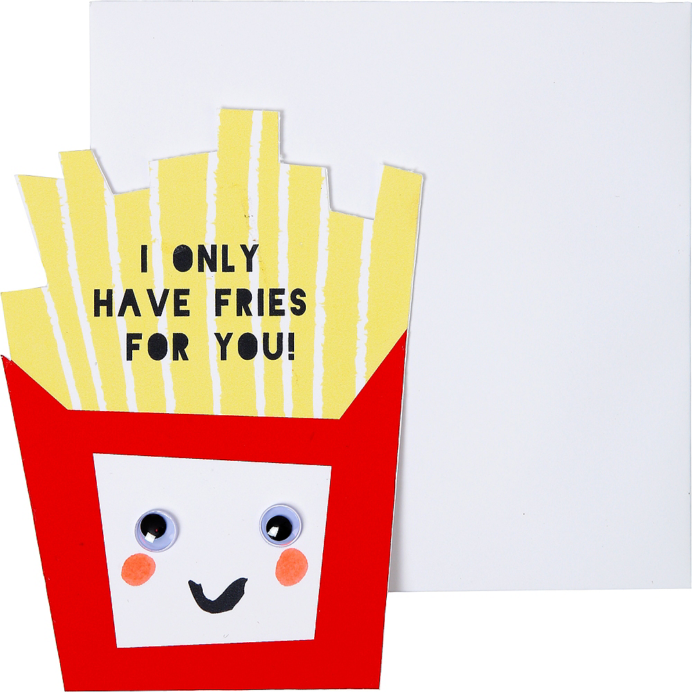 Food Valentine Exchange Cards with Tattoos 24ct Image #5