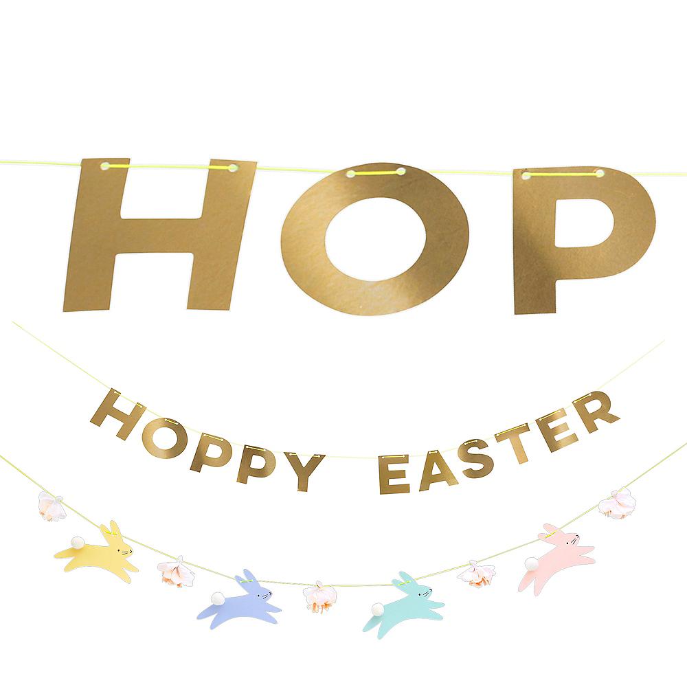 Hoppy Easter Letter Banner Image #1