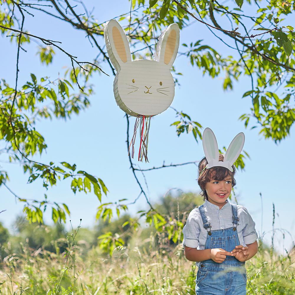 Pull String Easter Bunny Pinata Image #2