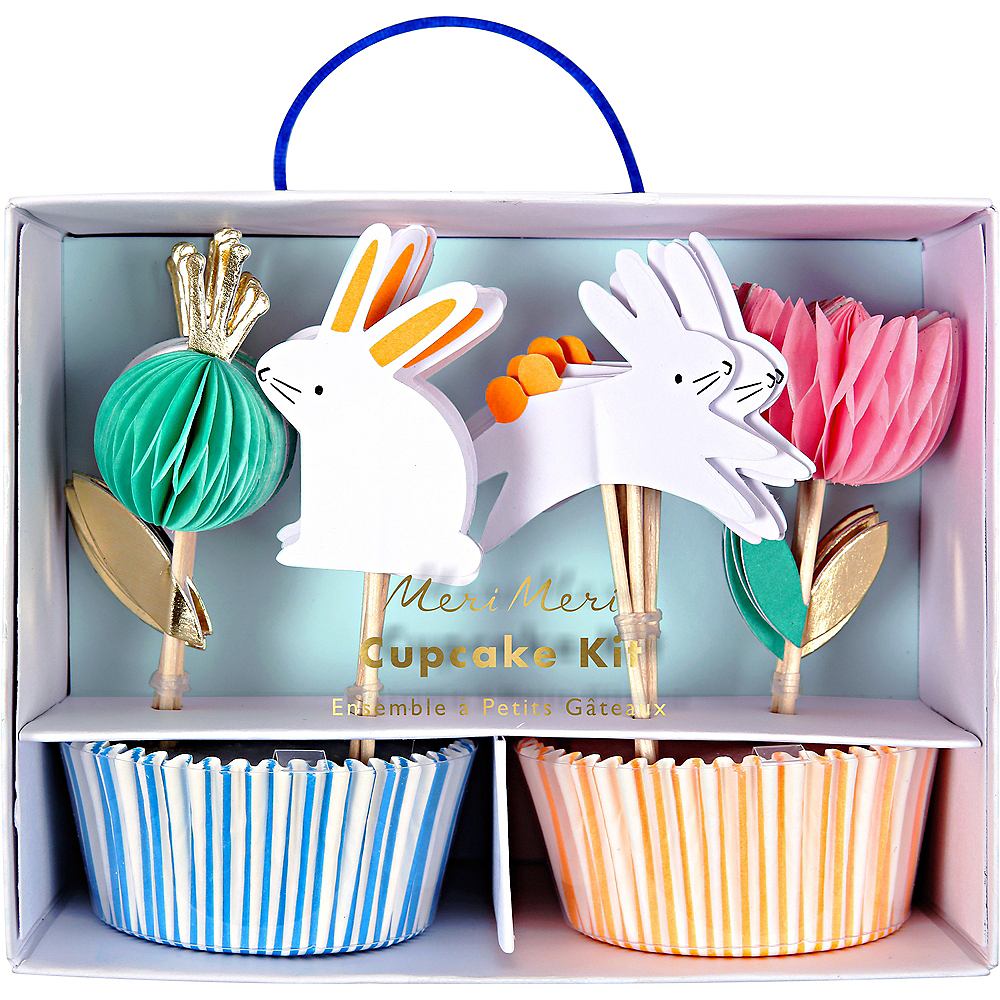 Easter Cupcake Decorating Kit for 24 Image #1