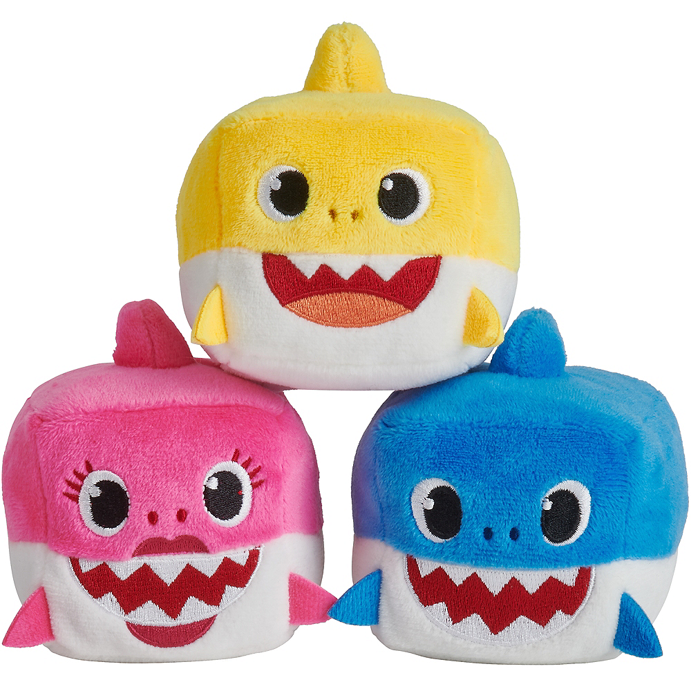 Singing Baby Shark Cube Plush Image #1