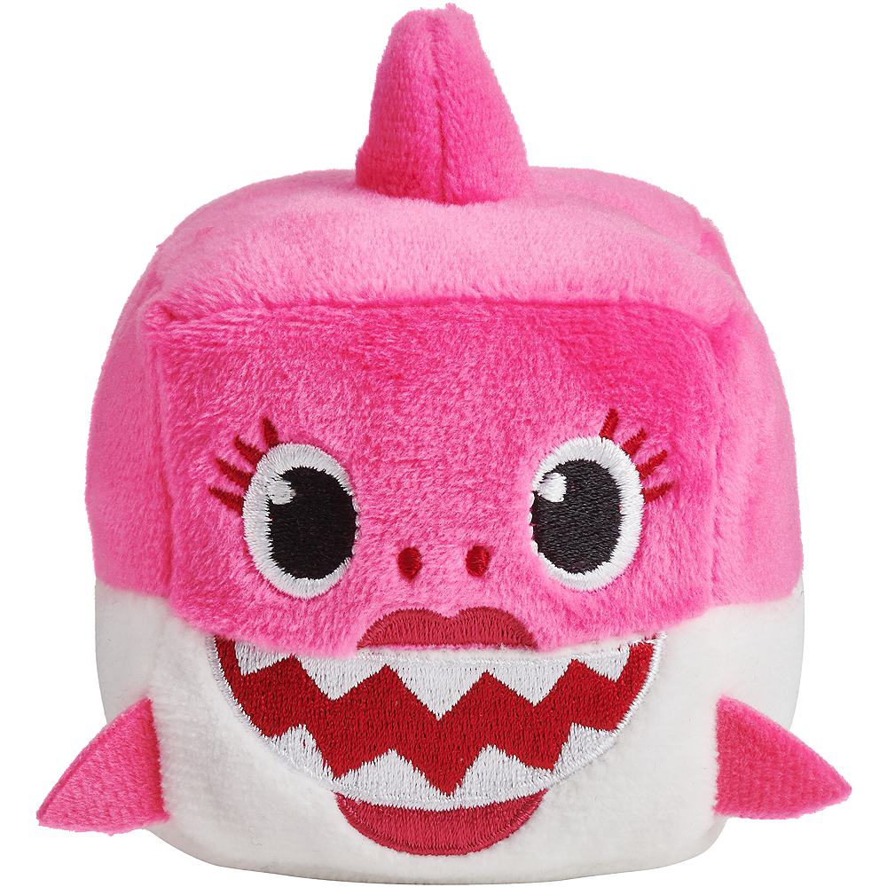 Singing Baby Shark Cube Plush Image #3