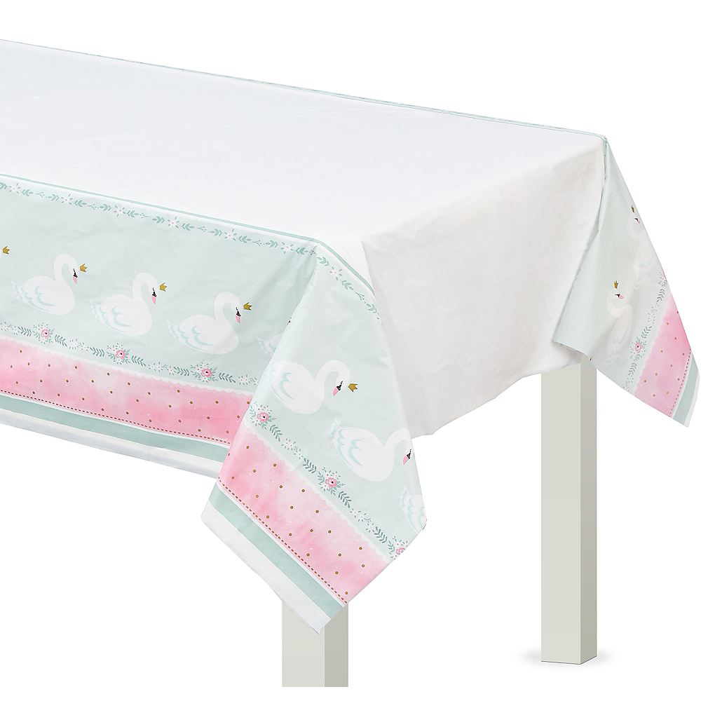 Sweet Swan Table Cover Image #1